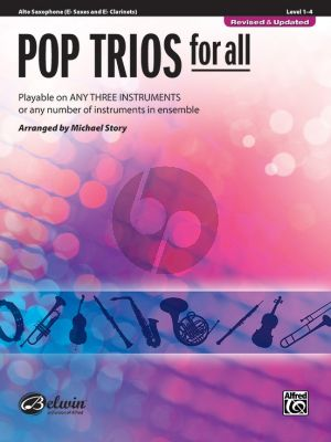 Pop Trios for All for Alto Saxophone (arr. Michael Story)
