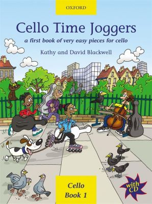Blackwell Cello Time Joggers (Bk-Cd) (A First Book of Easy Pieces for Cello)
