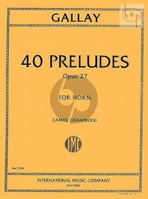 40 Preludes Op.27