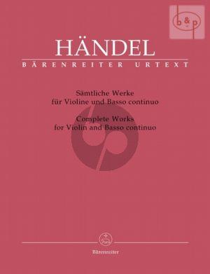 Samtliche Werke Violine-Bc