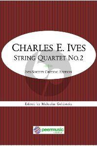 Ives Quartet No.2 2 Vi.-Va.-Vc. (Score/Parts) (edited by Goldstein)
