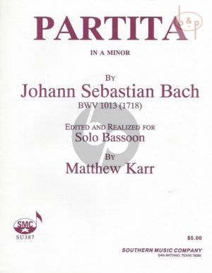Partita a-minor for Bassoon solo