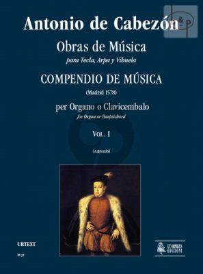 Obras de Musica para Tecla, Arpa y Vihuela Vol.1