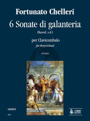 Chelleri 6 Sonate di galanteria Harpsichord (Vera Alcalay)