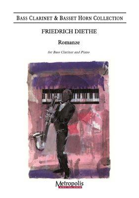 Guns Romanze for Bass Clarinet and Piano (Friedrich Diethe)