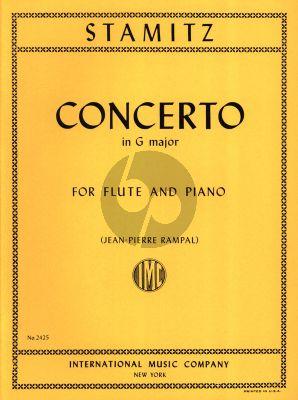 Stamitz Concerto G-major Op.29 Flute and Piano (Jean-Pierre Rampal)