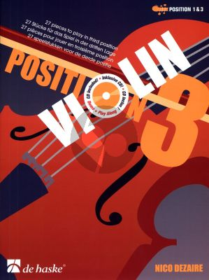 Dezaire Violin Position 3 (Bk-Cd) (1 & 3 Pos.) (27 Pieces to Play in the third Position)
