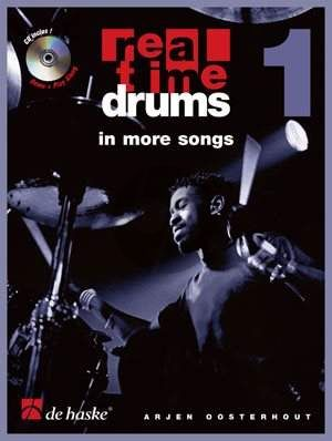Oosterhout Real Time Drums in More Songs Level 1 (Bk-Cd)