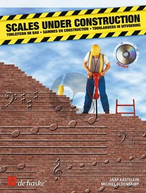 Scales under Construction for Tenor or Soprano Saxophone (Bk-Cd)