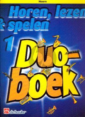 Horen, Lezen & Spelen Vol.1 Duoboek Hoorn