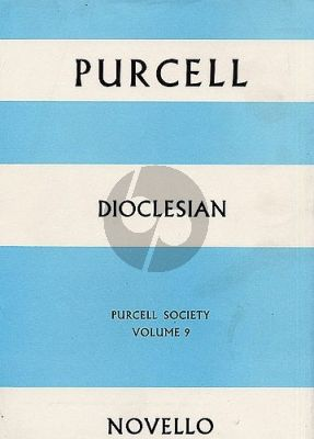 Purcell Dioclesian SATB-Orch. Full Score