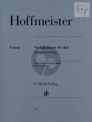 Concerto D-dur Viola-Orchestra piano red.