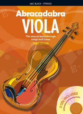 Davey Abracadabra for Viola (The Way to Learn through Songs and Tunes) (third ed.) (Bk-2 CD's)