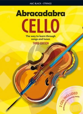 Abracadabra Cello (For Solo and Ensemble Teaching)