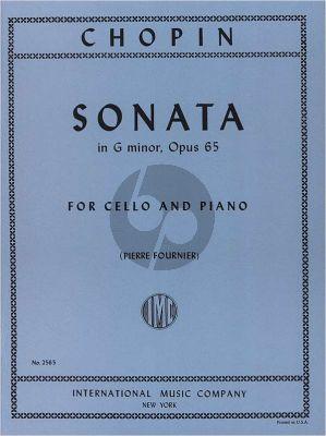 Sonata G-minor Op.65