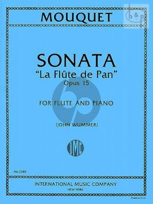 "Sonata Op.15 ""La Flute de Pan"""