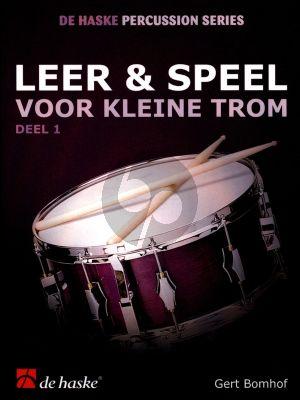Bomhof Leer & Speel voor Kleine Trom Vol. 1