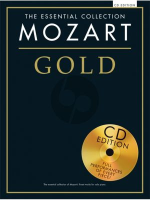 Mozart Gold The Essential Collection (Bk-Cd)