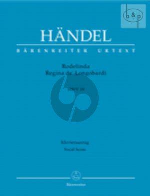 Rodelinda Regina de'Longobardi HWV 19 (Vocal Score)