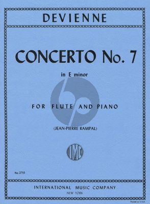 Devienne Concerto No.7 e-minor Flute and Piano (Jean-Pierre Rampal)
