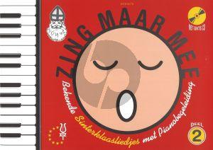 Zing Maar Mee Vol.2 Sinterklaasliedjes (Bk-Cd)
