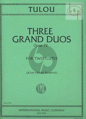 3 Grand Duets Op.72 (2 Flutes)