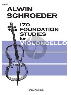 Schroeder 170 Foundation Studies Vol.3 for Cello