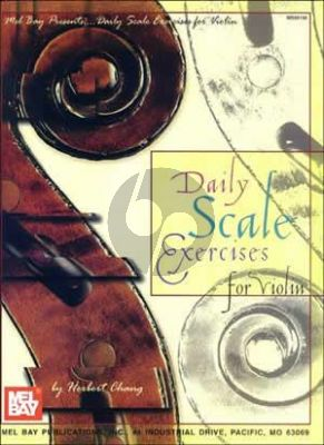 Chang Daily Scale Exercises for Violin
