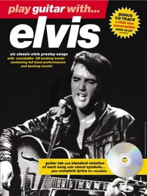Play Guitar with Elvis book-CD