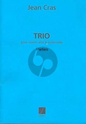 Cras Trio Violon-Alto-Violoncelle (Parties)