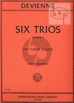 6 Trios Vol.2 (3 Flutes)