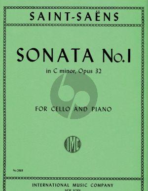 Saint-Saens Sonata No.1 Op.32 Violoncello-Piano (IMC)