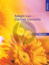 Mozart Adagio from Clarinet Concerto KV 622 Piano Solo (arranged by James Patten) Nabestellen