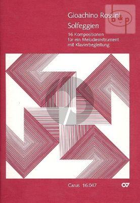 Solfeggien (16 Kompositionen)