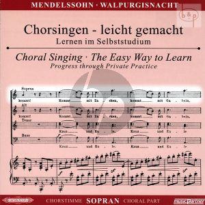 Die Erste Walpurgisnacht (Ballade) Op.60 (Sopran Chorstimme)