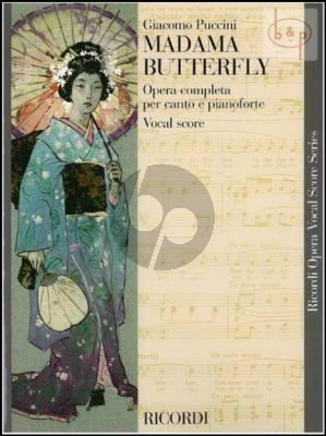 Madame Butterfly Vocal Score (English-Italian)