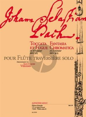 Bach Toccata & Fugue re mineur BWV 565 et Fantasia Crom
