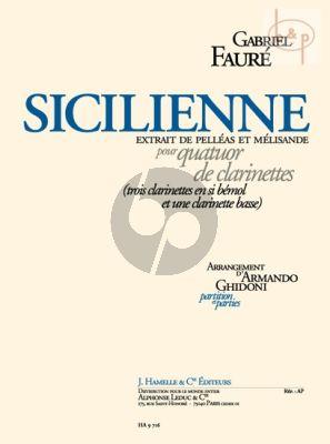 Sicilienne (de Pelleas et Melisande) (Ghidoni)