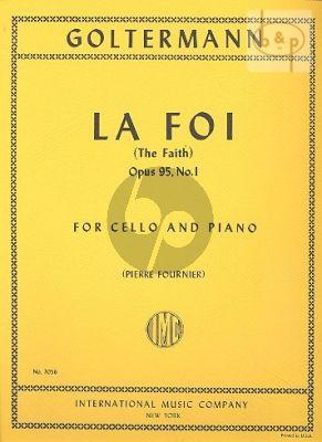 La Foi Op.95 No.1 Violoncello-Piano