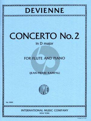 Devienne Concerto No.2 D-major Flute and Piano (Jean-Pierre Rampal)