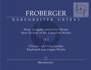 Samtliche Clavier-Orgelwerke Vol.4 Teil 1 (Neue Ausgabe samtlicher Werke)