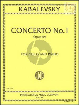 Concerto No.1 Op.49 Violoncello-Piano