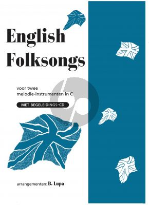English Folksongs for 2 C instruments (Bk-Cd) (Lupa) (Easy)