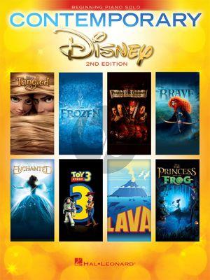 Contemporary Disney Solos for Beginning Piano