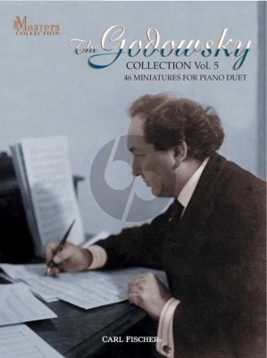 Godowsky Collection Vol.5 46 Miniatures for Piano 4 Hds)