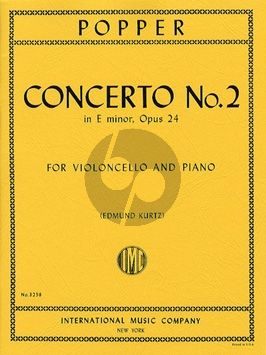 Popper Concerto No.2 e-minor Op.24 Violoncello-Piano (Edmund Kurtz)