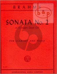 Sonata Op.120 No.2 E-flat major