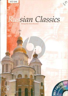 Russian Classics (Flute with Piano) (Bk-Cd) (Romanov)