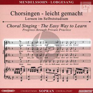 Lobgesang Op. 52 Sopran Chorstimme CD