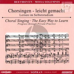 An die Freude (Schlusschor Symphonie No.9) mit Chorfantasie c-moll Op.80 Sopran Chorstimme